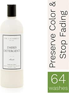 The Laundress - Darks Detergent, Classic, Laundry Detergent for Dark Clothes, Keep Colors Rich & Vibrant, Preserves Color, Fights Stains, Allergen-Free Dark Clothes Detergent, 33.3 fl oz, 64 washes