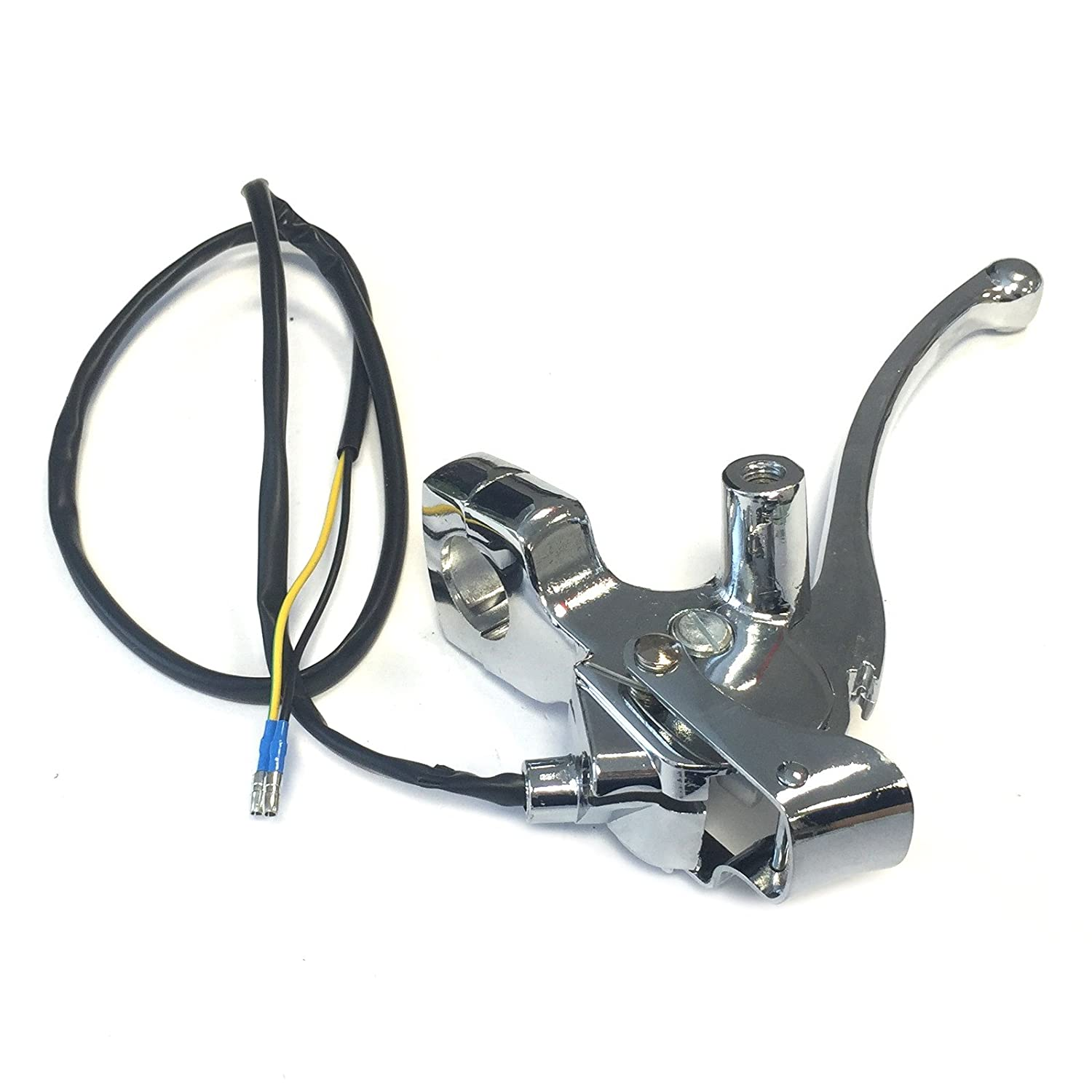 LEFT BRAKE LEVER FOR RETRO VINTAGE STYLE CHINESE SCOOTER ZN50QT-E ZN125T-H GY6 4STROKE SCOOTER QT-E ZNEN LANCE BMS TNG BENZHOU BELLO .....