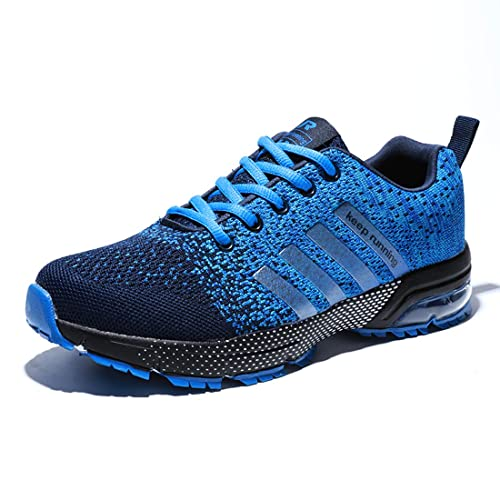 Uomo Donna Scarpe da Sportive Running Basket Sneakers Air Cushion Atletico  Scarpe Allacciare Fitness Casual Scarpe ff317c35ce1