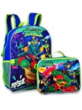 "Ninja Turtles TMNT 16"" Backpack with Detachable Matching Lunch Box"