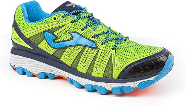 Joma Trek Zapatillas Trail Running, Fluor Marino: Amazon.es ...