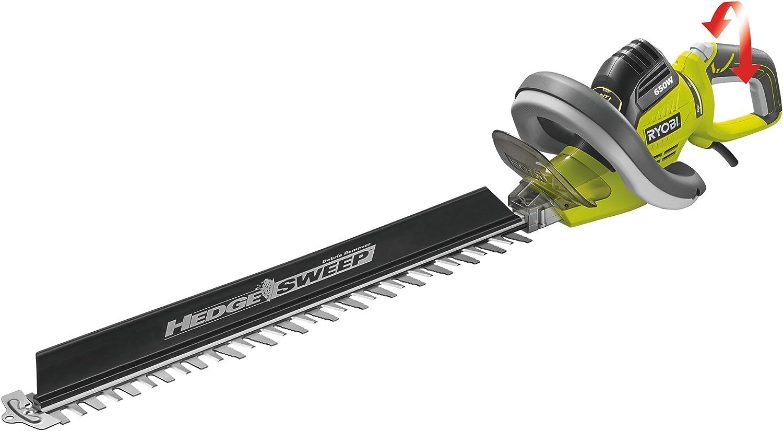 650W Ryobi RHT6560RL Hedge Trimmer with HedgeSweep