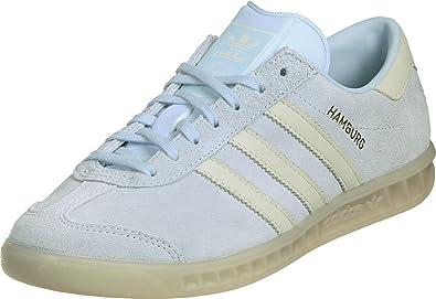 adidas Originals Hamburg Damen Sneaker Schuhe Leder Schuhe ROSA Mint HELLBLAU