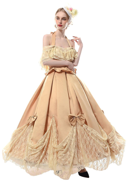 Damen Kleid Mittelalterliche Viktorianisches mit Underskirt ...