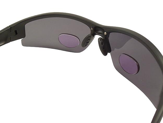 5d6ad48bc35 Eye Ojo Renegade Patented Bifocal Polarized Reader Half Rim Mens Fishing  Sunglasses 100 % UV