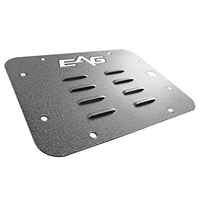 EAG Tailgate Vent-Plate Cover Spare Tire Carrier Delete Fit for 07-18 Jeep Wrangler JK: Automotive [5Bkhe1008335]