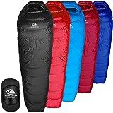 Hyke & Byke Shavano 32 Degree F 650 Fill Power Hydrophobic Down Sleeping Bag with ClusterLoft Base - Ultra Lightweight Men's