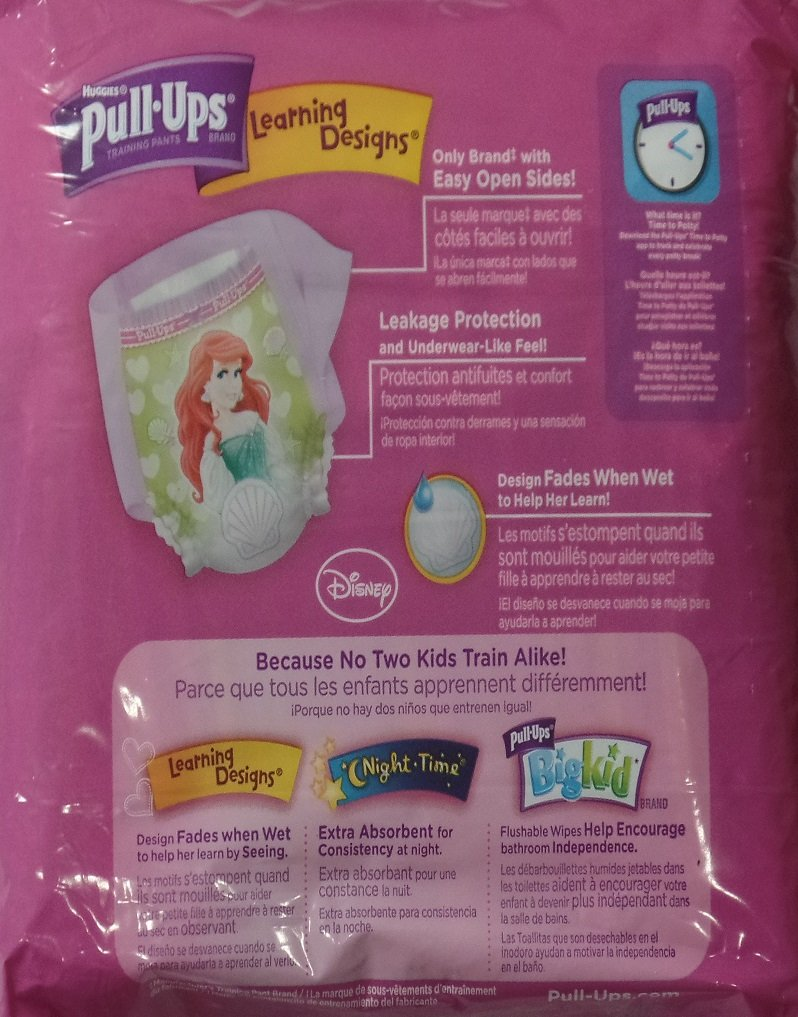 Amazon.com: Huggies Pull-Ups Learning Designs Training Pants 2T-3T Girls (Girls 2T-3T): Health & Personal Care