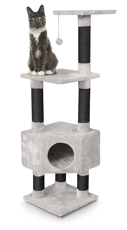 petrebels esquina de gatos de rascador Kings & Queens Elizabeth 135 Royal Crema/Beige Claro, Tamaño Mediano. A los arañazos Muebles para todos los gatos: ...