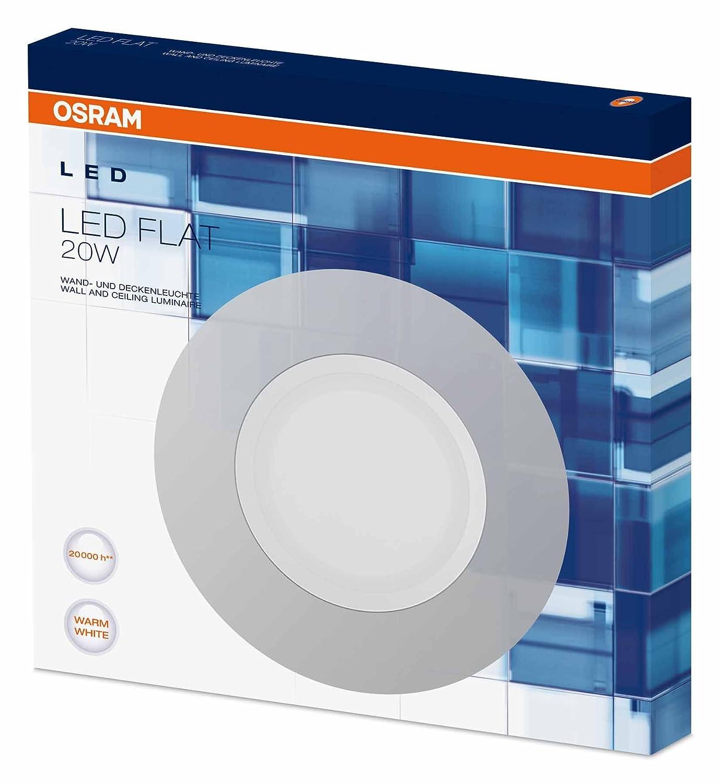 Osram LED Flat Wand- und Deckenleuchte, für Innenanwendungen, 380,0 ...