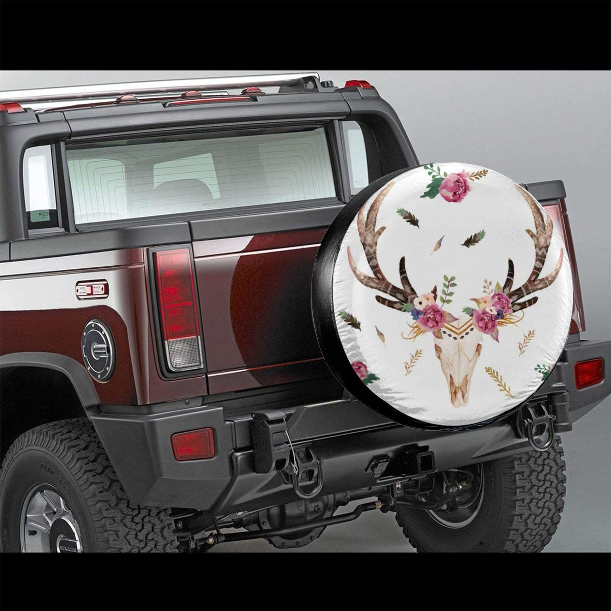 Wohnmobil Anh/änger SUV und viele Fahrzeuge 35,6 cm wellay Boho Aztec Beauty Floral Free Reserveradabdeckung Wasserdicht Reifenschutz Sonnenschutz Staubdicht Radabdeckungen f/ür Jeep