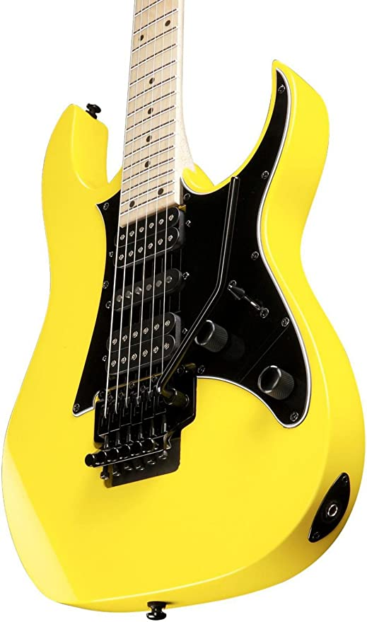 Ibanez RG serie rg450mb - Guitarra eléctrica, color amarillo: Amazon ...