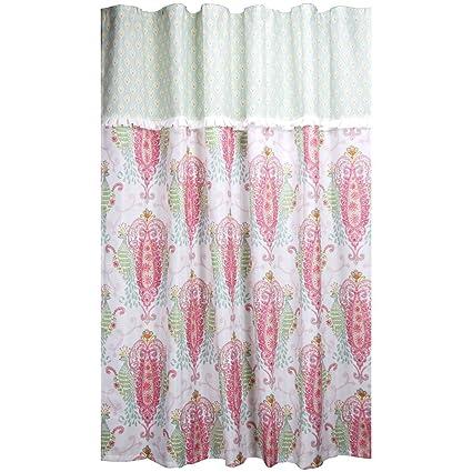 Dena Peacock Shower Curtain