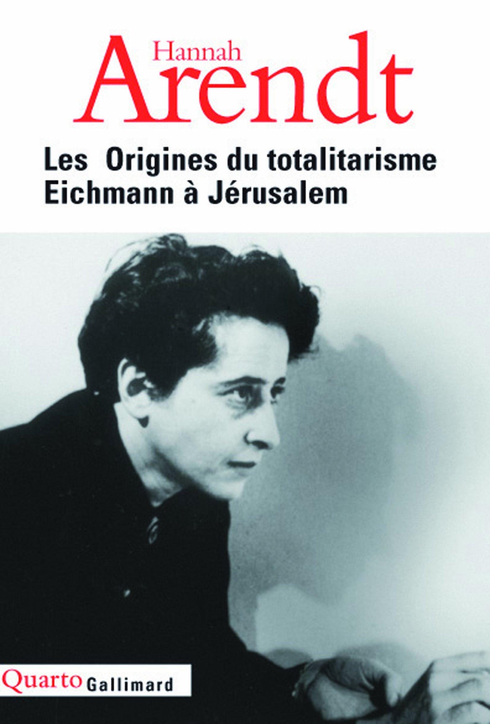 """Résultat de recherche d'images pour """"les origines du totalitarisme hannah arendt"""""""
