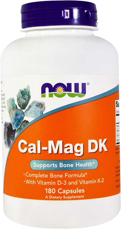NOW Foods – Cal-Mag DK 180 cap Pack of 2