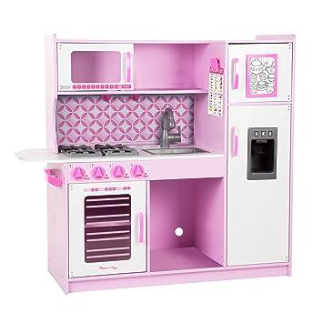 amazon com melissa doug chef s kitchen cupcake pink white toys rh amazon com