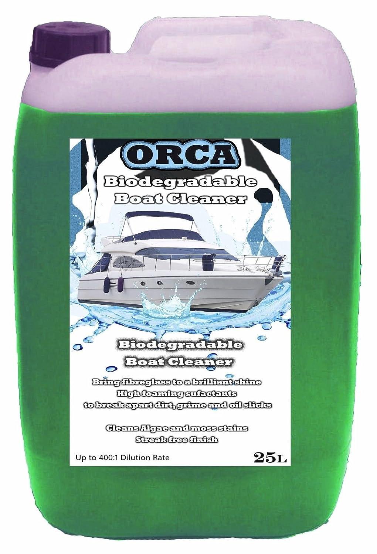 Orca Biodegradable barco limpiador suciedad Buster - 25L brillante brillo: Amazon.es: Coche y moto