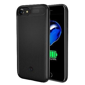 BasicStock Funda Batería iPhone 6 6s 7 8, 5500mAh Batería ...