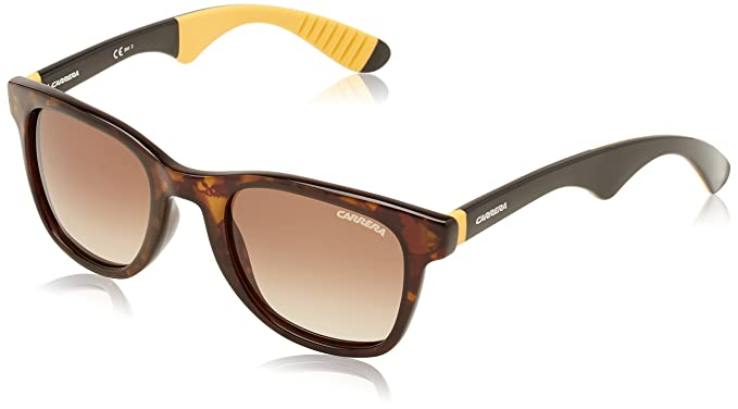 2144acdc6edd Amazon.com: Carrera 6000/R/S Sunglasses Dark Havana Shiny/Brown ...