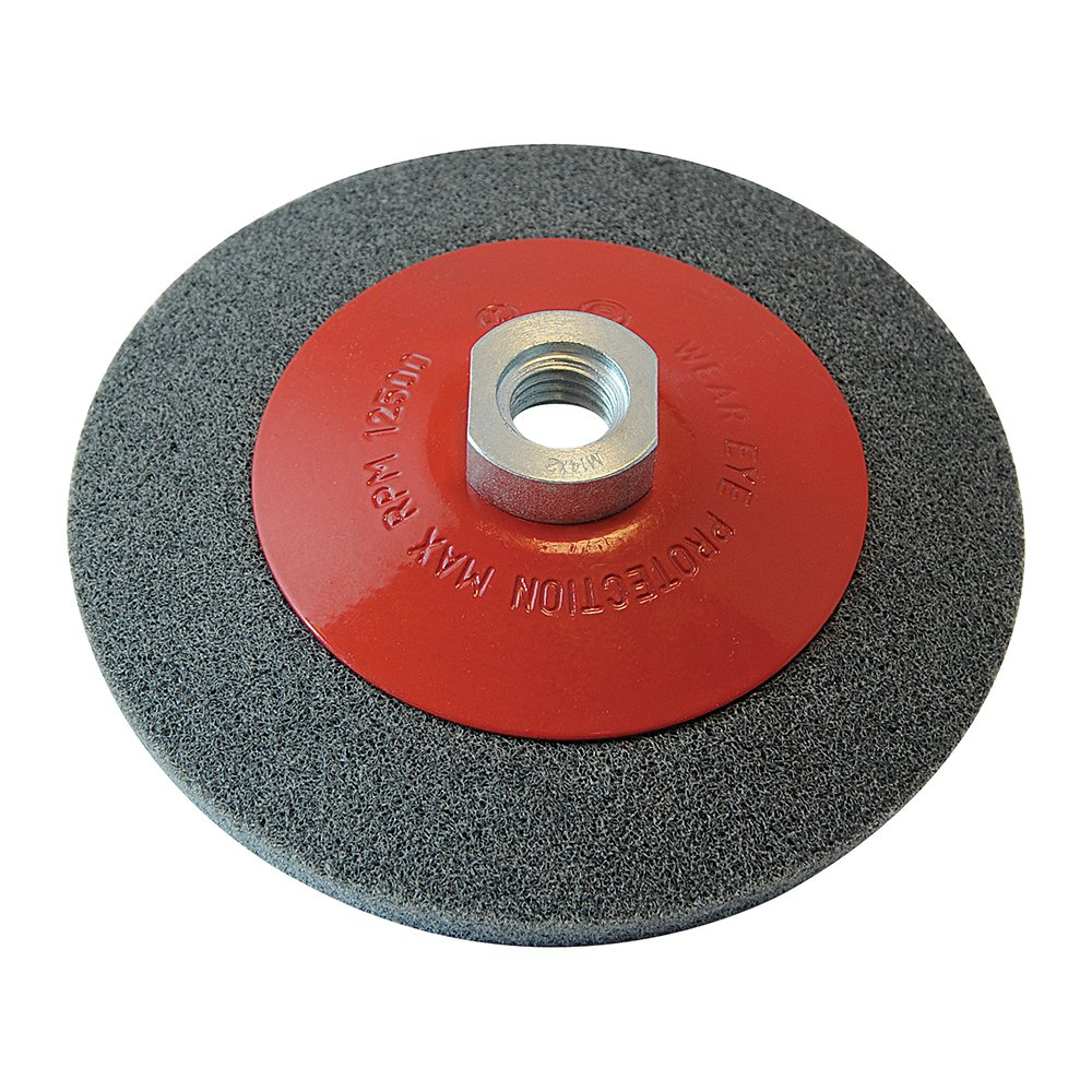 Silverline 580493 Brosse circulaire /à fils torsad/és 115 mm