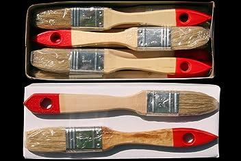 24 x Flachpinsel 100 mm Chinaborste hell Maler Lack Lasur Abwasch Allzweck Einweg Industrie Pinsel Lasurpinsel Lackierpinsel