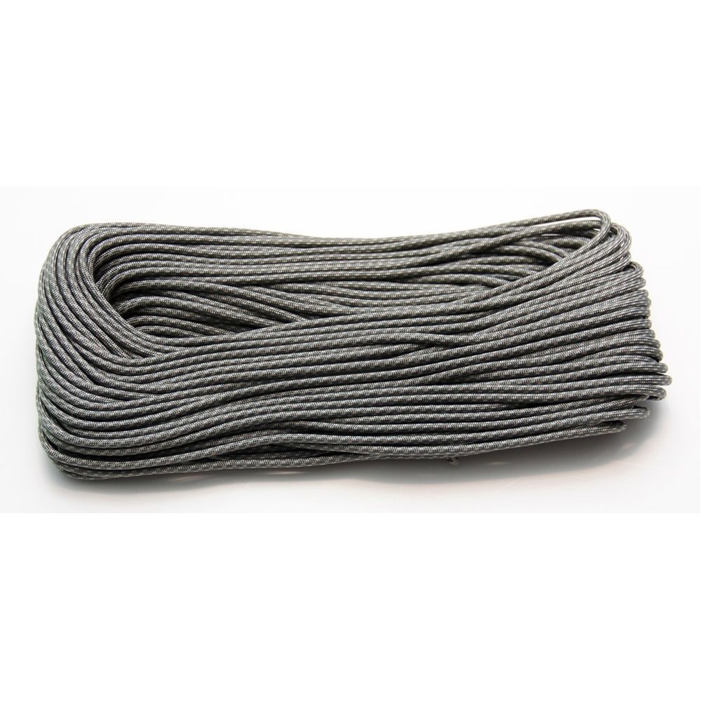Private Label 100 Feet Nylon Paracord – 7 Strand 550 Typ III Commercial Grade