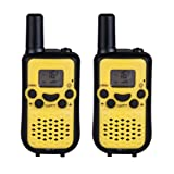 Amazon Price History for:DuaFire Durable Kids Walkie Talkies, 2 Way Radio for Kids Playing Games, Back-lit LCD Screen and Strengthen VOX Free Your Hands (Yellow)