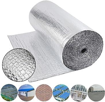 Dripex - Cobertizo doble de aluminio con aislamiento de burbujas ...