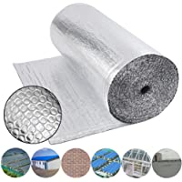 Business, Office & Industrial Double Foil Bubble Insulation for floor wall caravan shed loft roof 20m2 Building Materials & Supplies
