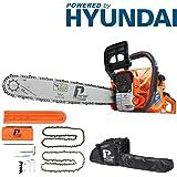 P1PE P6220C - Cadena de gasolina de 2 tiempos para arranque fácil, motor Hyundai alimentado por 62 cc