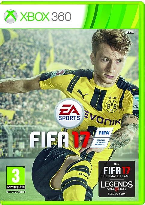 120 opinioni per FIFA 17- Xbox 360