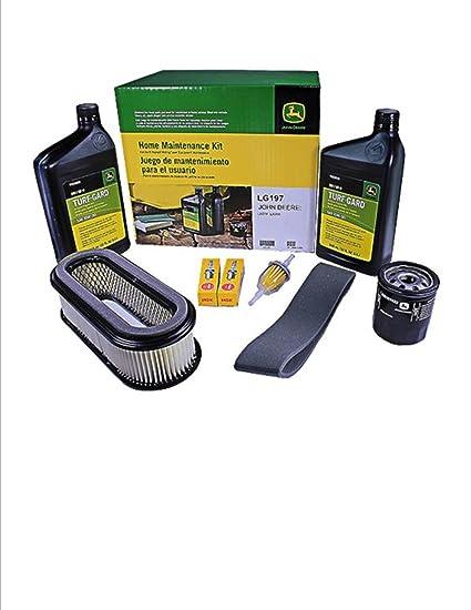 Amazon.com: Kit de mantenimiento para John Deere LX279 y ...