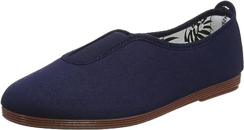 Flossy Sabroso Womens Espadrilles Summer Slip On Canvas Pumps Plimsoles Shoes