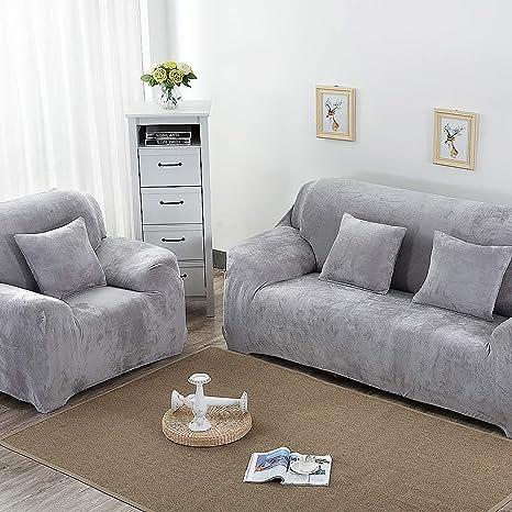 RUILASA Fundas de sofá Gruesas para 1/2/3/4 plazas, Color ...