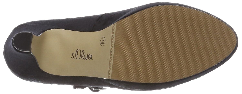 24410-31, Zapatos de Tacón para Mujer, Rojo (Dark Red 505), 40 EU s.Oliver