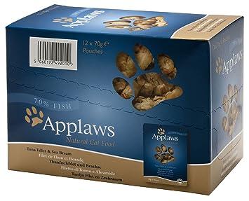Comida gato Applaws bolsita 70g [5 especialidades]: Amazon.es: Productos para mascotas
