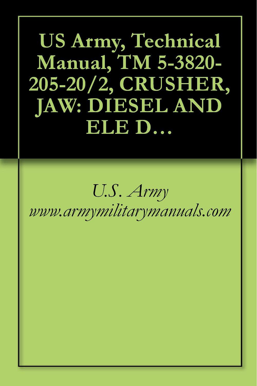 US Army, Technical Manual, TM