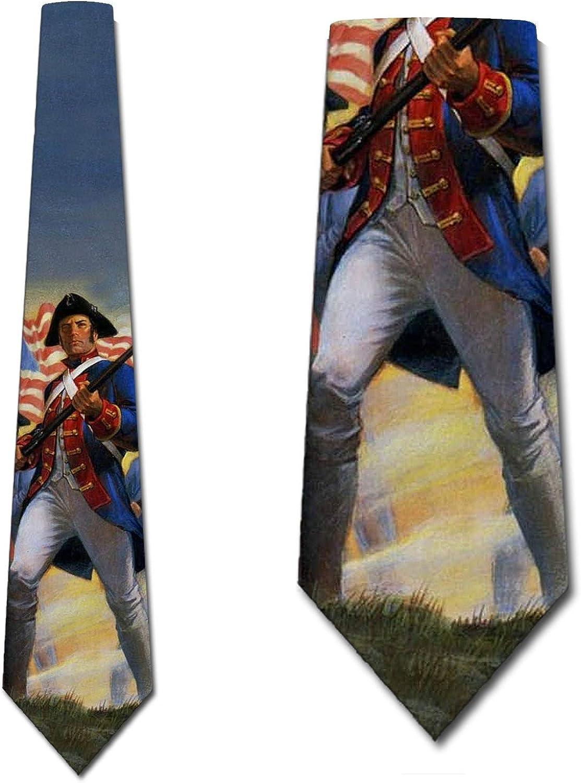 Patriotic Ties Mens US Flag Necktie by Three Rooker