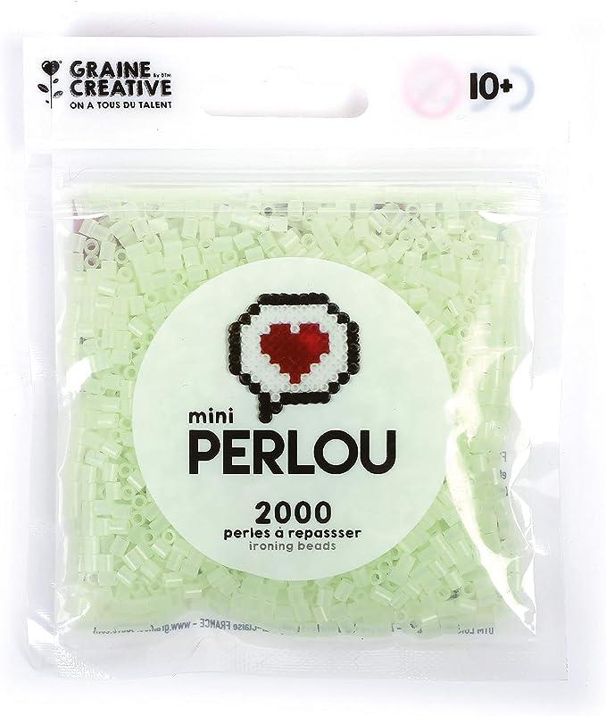 Perlou Perles à repasser Mini Perlou Phosphorescent