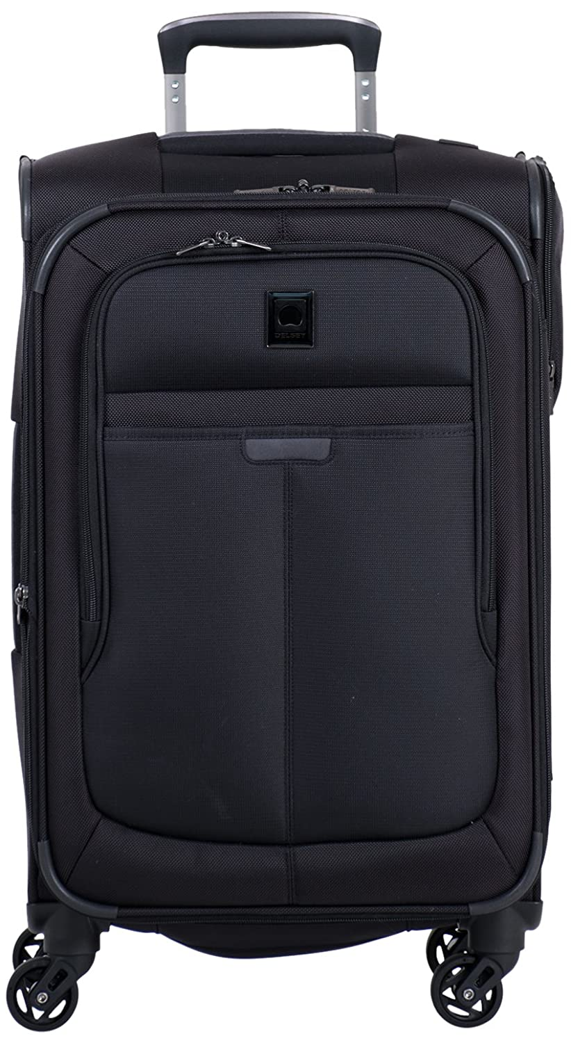 35e925297 outlet Delsey Luggage Helium Pilot 3.0 Carry-On Expandable Spinner Trolley,  Black, One