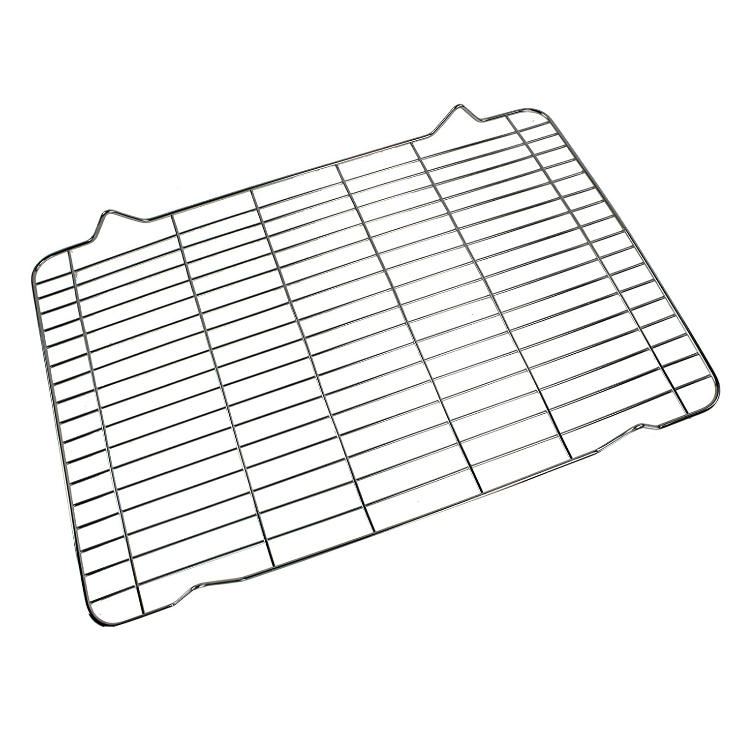 First4spares Universal Oven Cooker Grill Pan Grid Mesh/Wire Food Cooling Rack (370mm x 250mm)