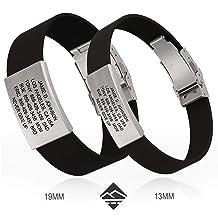 Road ID Bracelet - the Wrist ID Elite 13mm - Stainless Classic - Identification Bracelet