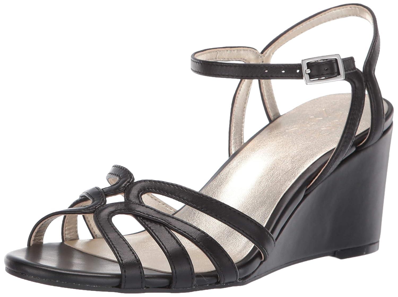 Black Leather Naturalizer Women's GIO Sandal