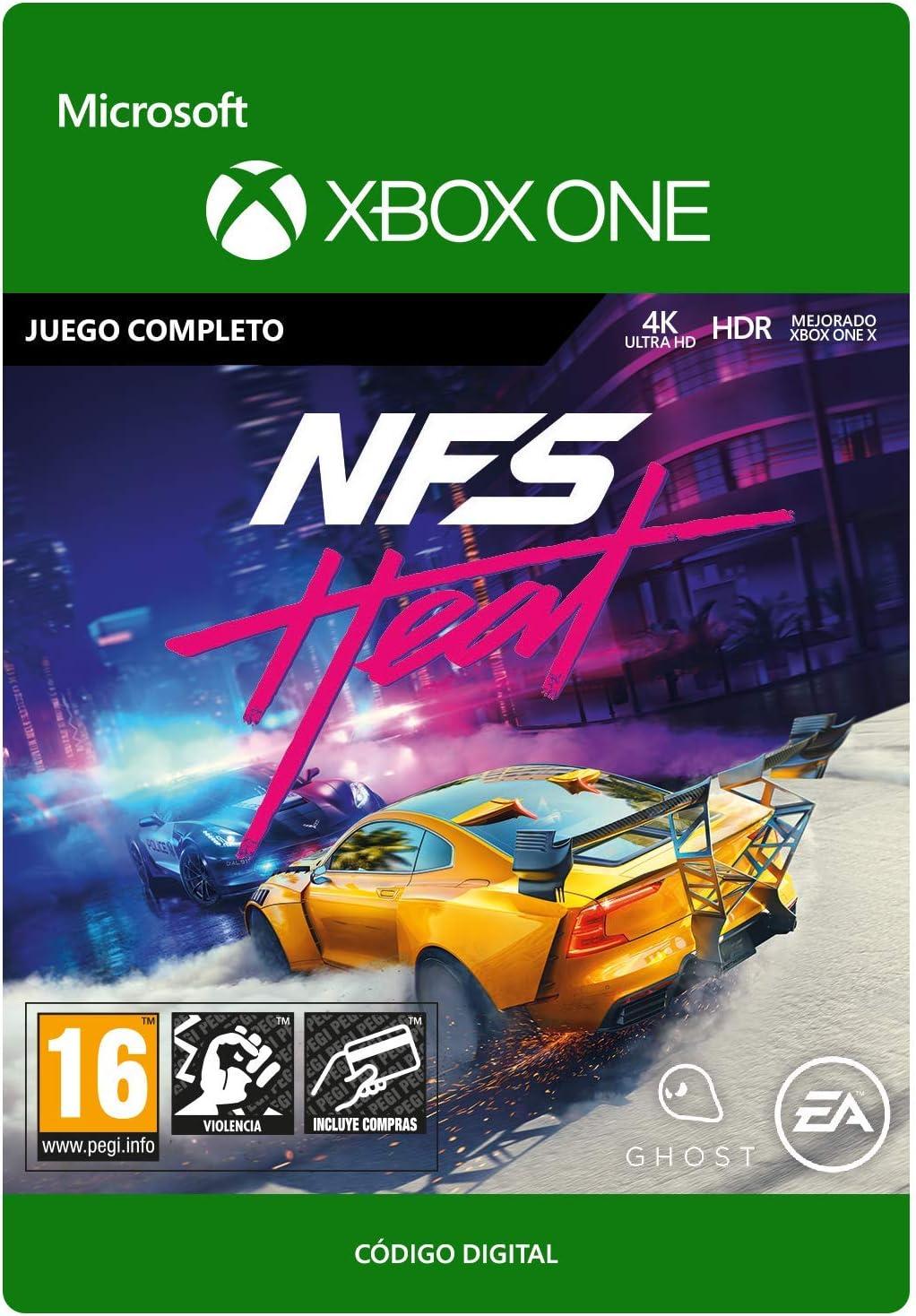 Need for Speed: Heat Standard Edition | Xbox One - Código de descarga: Amazon.es: Videojuegos