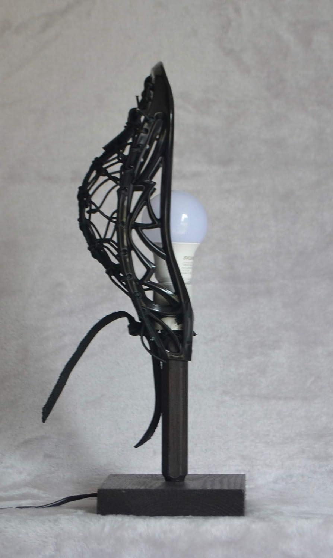 LaxLight\u00ae University of Alabama bedroom Lacrosse lamp by Blackfeet Lacrosse