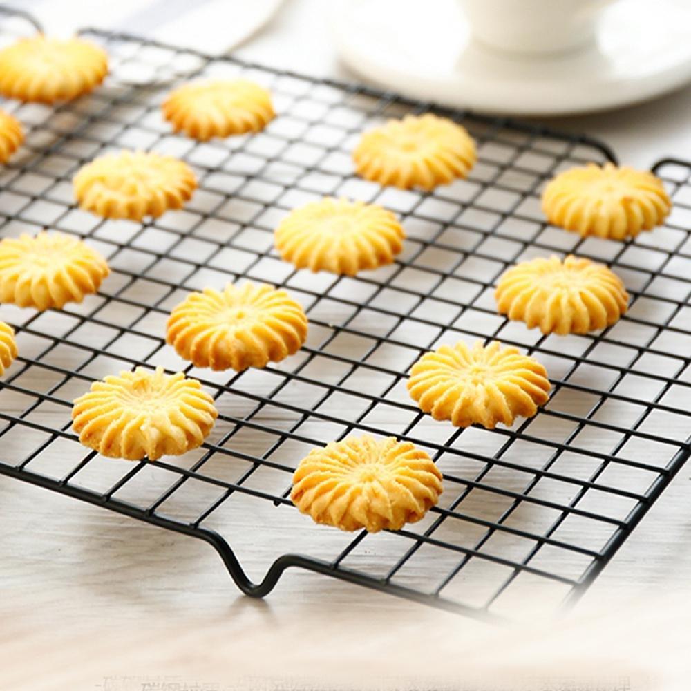 filo di metallo ripiano griglia per torta di pane biscotti Cool Down rivestimento antiaderente Pawaca graticola in acciaio inossidabile torta in acciaio al carbonio