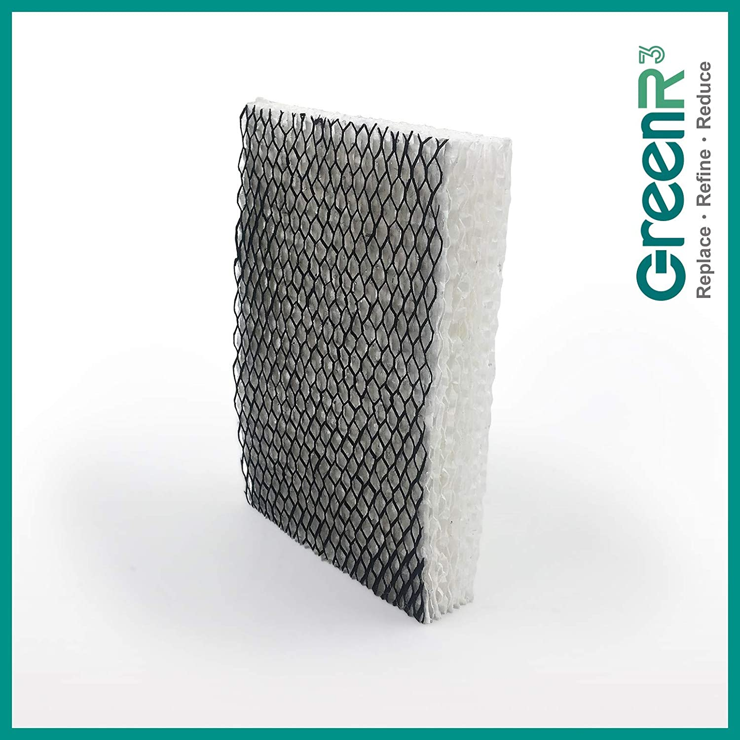 GreenR3 3-Pack Replacement Humidifier Wick Filters for Bionaire BWF100 Fits BCM600 BCM630 BCM646BF BCM646C BCM655 BCM657 BCM658 BCM4655 BCM5520 BCM7255 BCM7305RC BCM7308 BCM7510 Sunbeam SCM2412