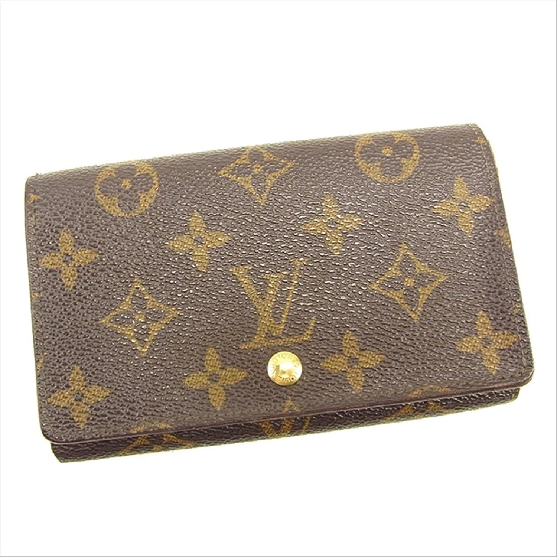 ルイ ヴィトン Louis Vuitton L字ファスナー財布 二つ折り財布 ユニセックス ポルトモネビエトレゾール M61730 モノグラム 中古 T110 B0772PXLD3
