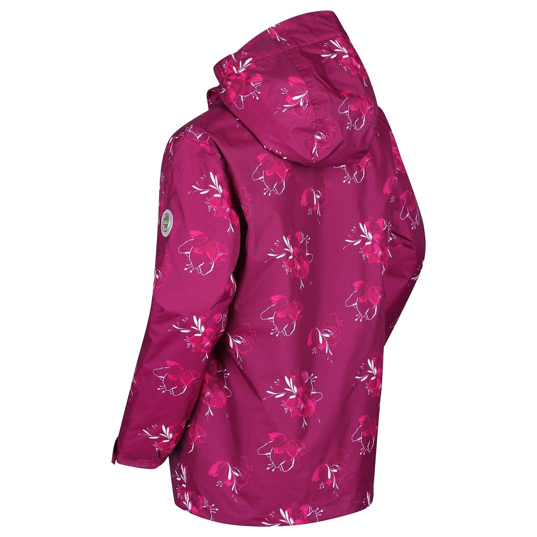 Regatta Childrens Braylee Waterproof Reflective Hooded Jacket Insulated