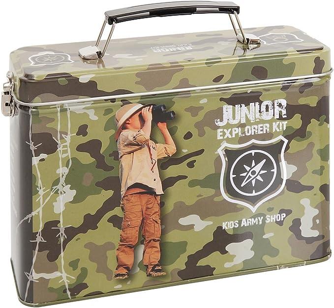 Kit Ejército Niños camuflaje Júnior Explorer - Niños Ejército Roleplay: Amazon.es: Juguetes y juegos